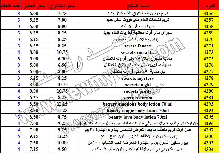 حصريا ::قائمة أسعار منتجات ماى واى في شهر ديسمبر 2016 .. بسعر الكتالوج .. بسعر العضويه .. وعدد النقاط 13_o13