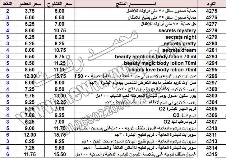 حصريا ::قائمة أسعار منتجات ماى واى في شهر يناير 2017 .. بسعر الكتالوج .. بسعر العضويه .. وعدد النقاط  13_o15