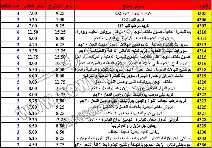 حصريا ::قائمة أسعار منتجات ماى واى في شهر ديسمبر 2016 .. بسعر الكتالوج .. بسعر العضويه .. وعدد النقاط 14_o14