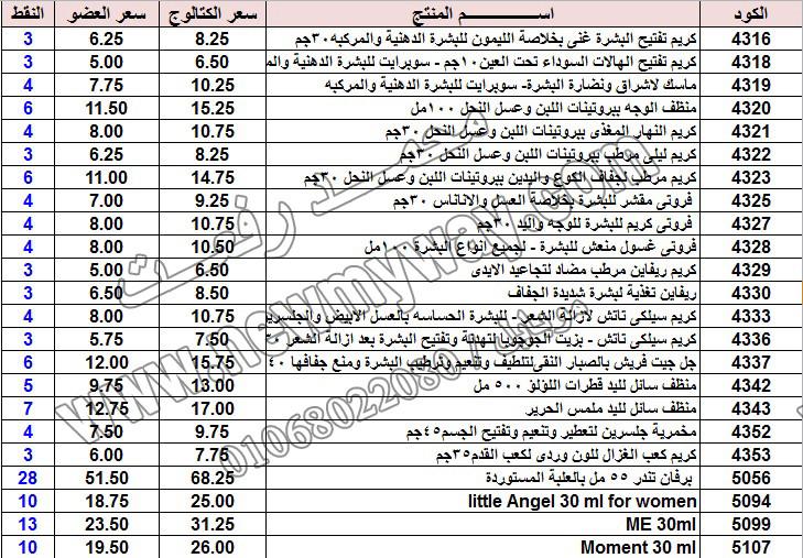 حصريا ::قائمة أسعار منتجات ماى واى في شهر يناير 2017 .. بسعر الكتالوج .. بسعر العضويه .. وعدد النقاط  14_o16