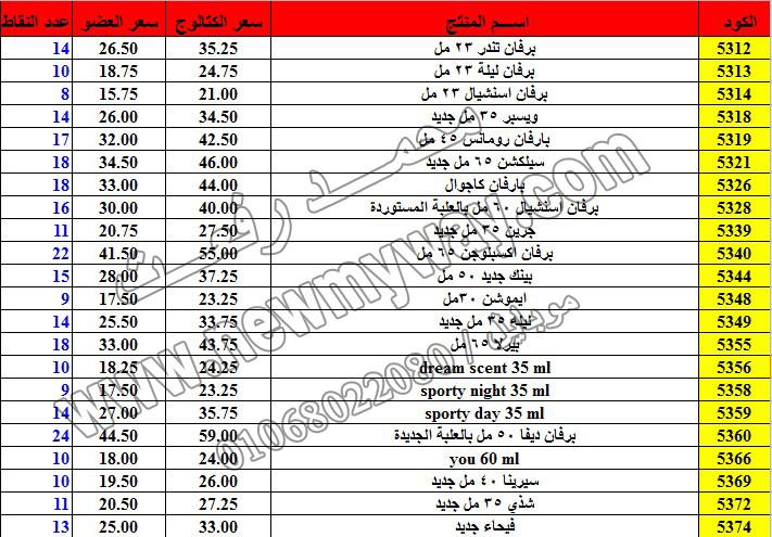 حصريا ::قائمة أسعار منتجات ماى واى في شهر ديسمبر 2016 .. بسعر الكتالوج .. بسعر العضويه .. وعدد النقاط 17_o13