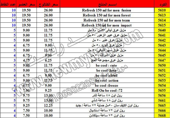 حصريا ::قائمة أسعار منتجات ماى واى في شهر ديسمبر 2016 .. بسعر الكتالوج .. بسعر العضويه .. وعدد النقاط 19_o13