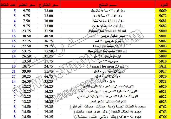 حصريا ::قائمة أسعار منتجات ماى واى في شهر ديسمبر 2016 .. بسعر الكتالوج .. بسعر العضويه .. وعدد النقاط 20_o10