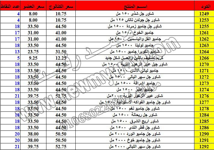 حصريا ::قائمة أسعار منتجات ماى واى في شهر ديسمبر 2016 .. بسعر الكتالوج .. بسعر العضويه .. وعدد النقاط 2_o15