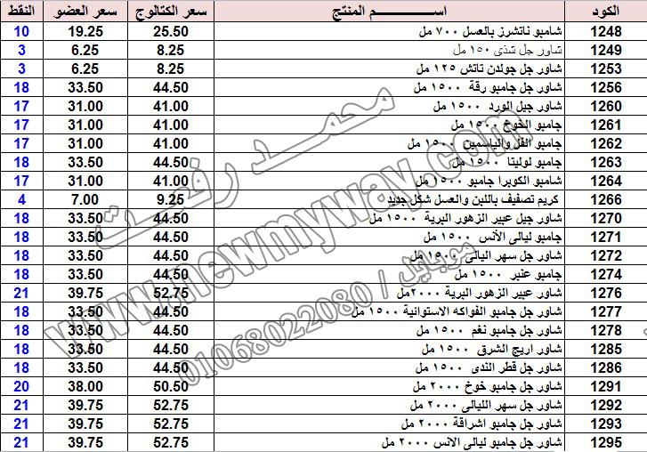 حصريا ::قائمة أسعار منتجات ماى واى في شهر يناير 2017 .. بسعر الكتالوج .. بسعر العضويه .. وعدد النقاط  2_o18