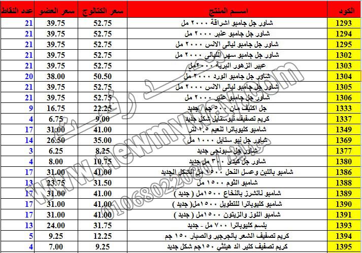 حصريا ::قائمة أسعار منتجات ماى واى في شهر ديسمبر 2016 .. بسعر الكتالوج .. بسعر العضويه .. وعدد النقاط 3_o15