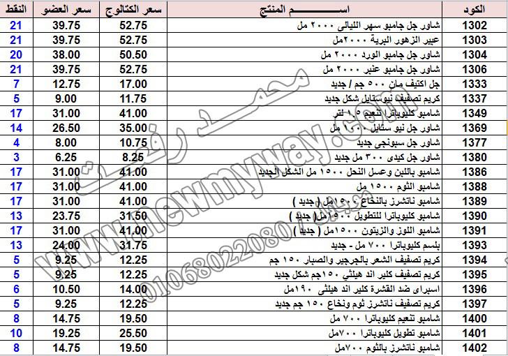 حصريا ::قائمة أسعار منتجات ماى واى في شهر يناير 2017 .. بسعر الكتالوج .. بسعر العضويه .. وعدد النقاط  3_o18