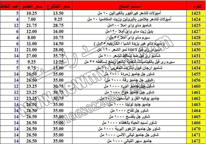 حصريا ::قائمة أسعار منتجات ماى واى في شهر ديسمبر 2016 .. بسعر الكتالوج .. بسعر العضويه .. وعدد النقاط 5_o16