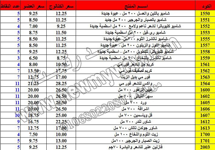 حصريا ::قائمة أسعار منتجات ماى واى في شهر ديسمبر 2016 .. بسعر الكتالوج .. بسعر العضويه .. وعدد النقاط 7_o16