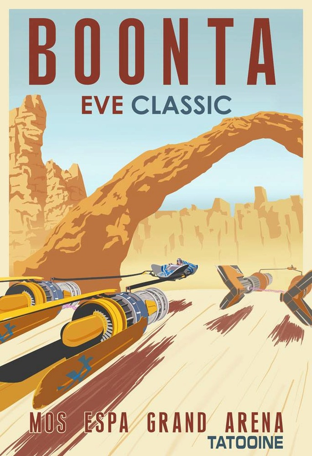 ACME - Steve Thomas - Star Wars Travel Posters  15326011