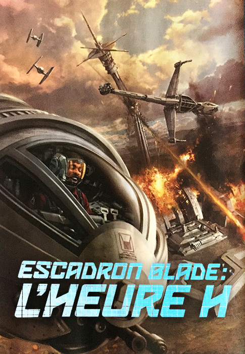 [NOUVELLE] Escadron Blade - Heure H (David et Mark Williams) Escadr10