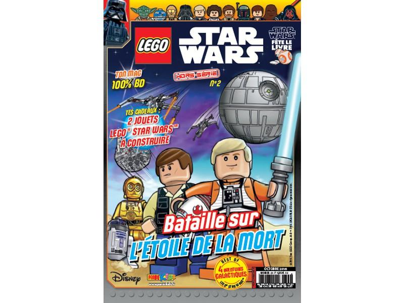 Magazine Panini STAR WARS LEGO #HS2 Fstwh010
