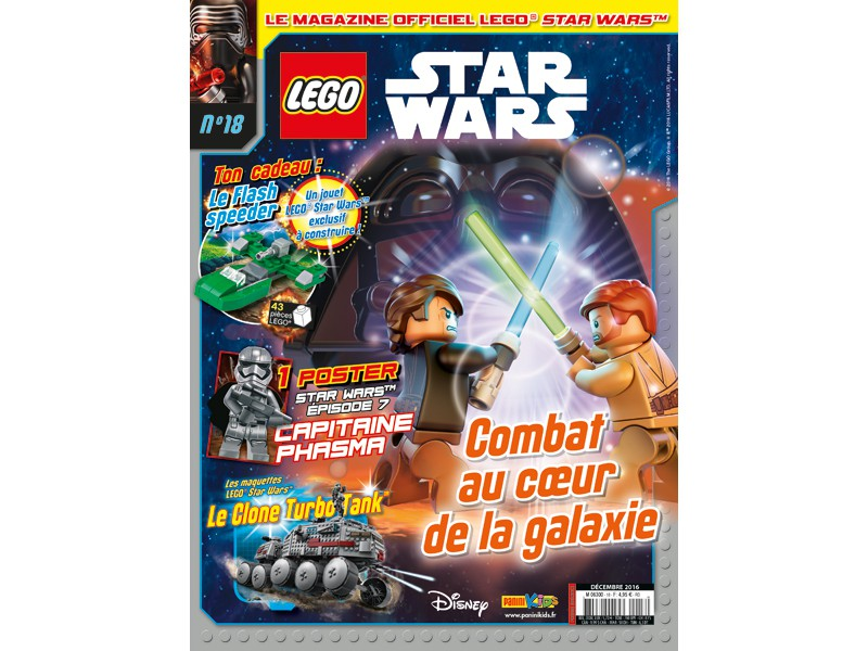Magazine Panini STAR WARS LEGO #18 Fstwl010
