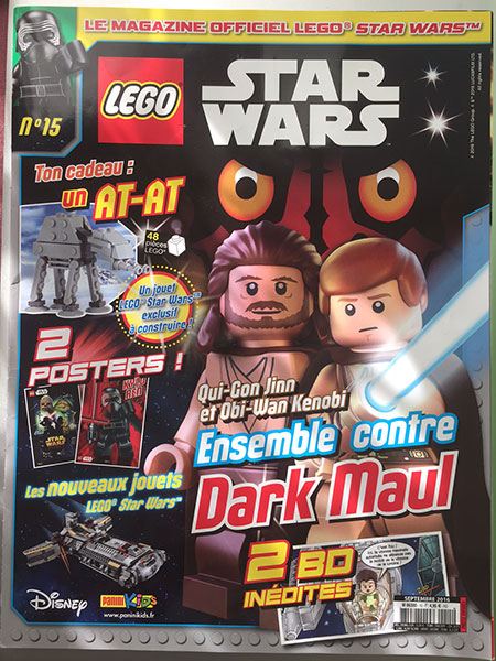 Magazine Panini STAR WARS LEGO #15 Img_7812