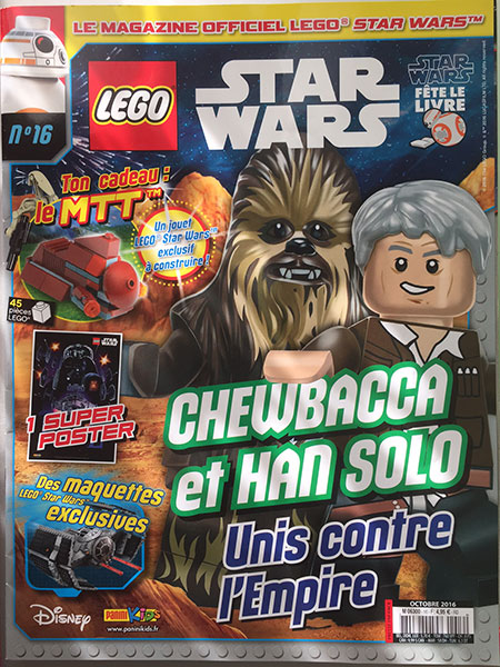 Magazine Panini STAR WARS LEGO #15 Img_7813