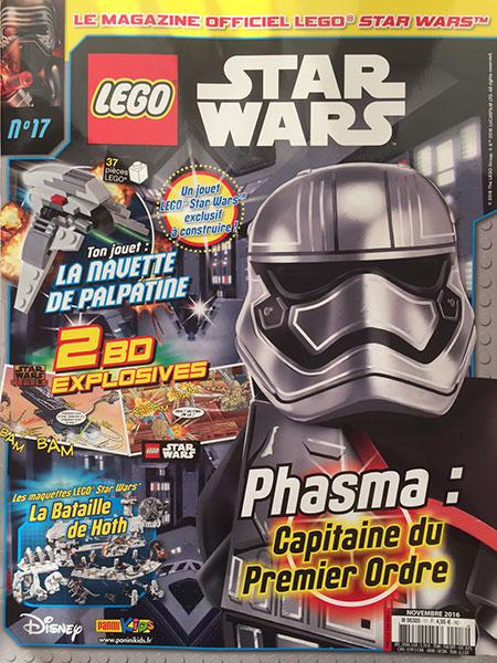Magazine Panini STAR WARS LEGO #17 Img_7814