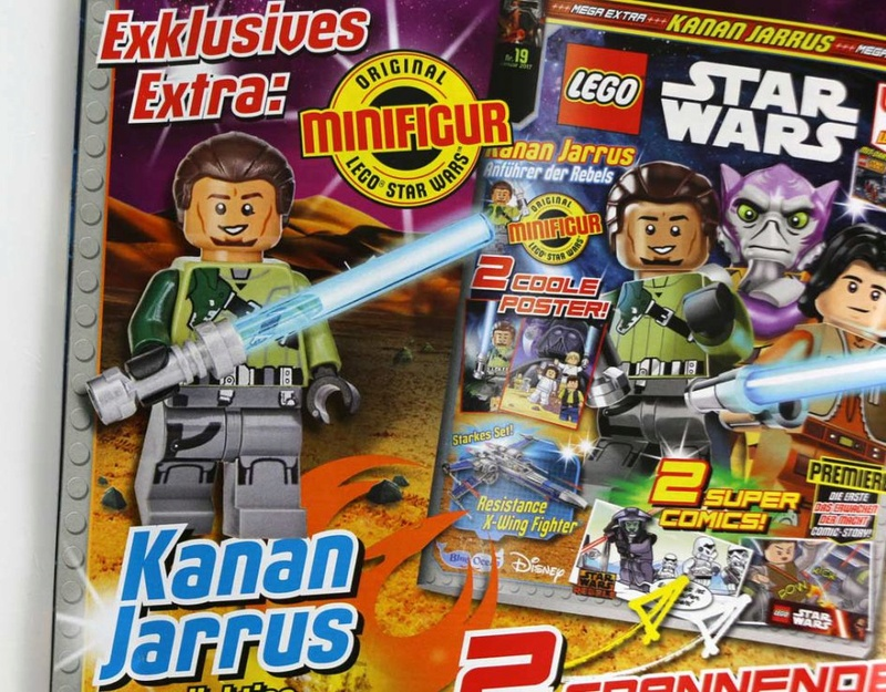 Magazine Panini STAR WARS LEGO #19 Lego-s10