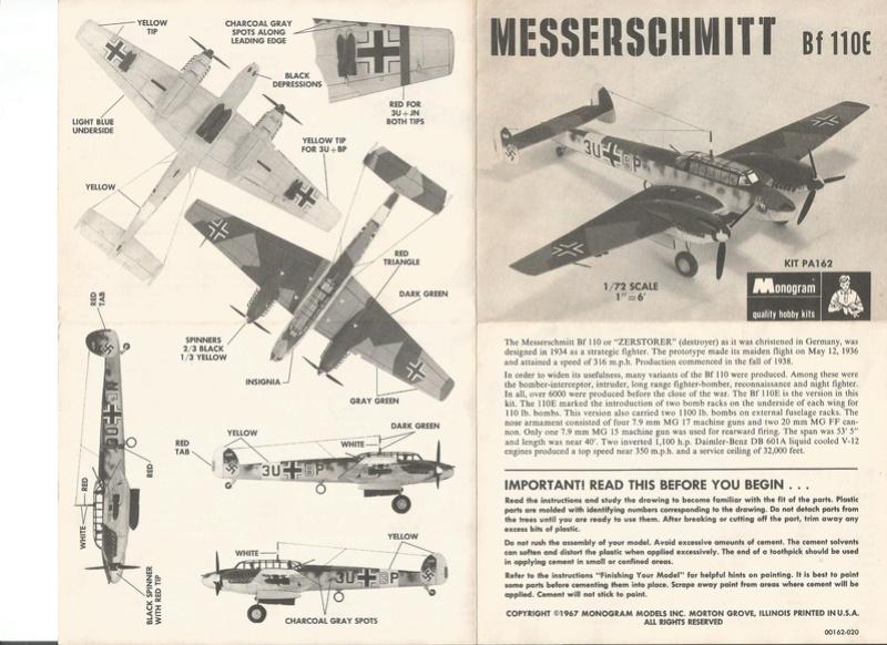 [Monogram] Bf 110 E Il approche de la fin, enfin! Monog_11