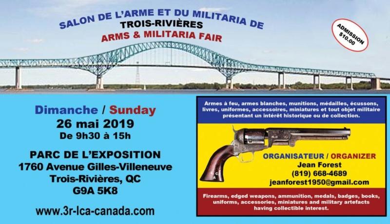 Salon des armes, (gunshow) de Trois-Rivières 26 mai 2019 Gunsho10