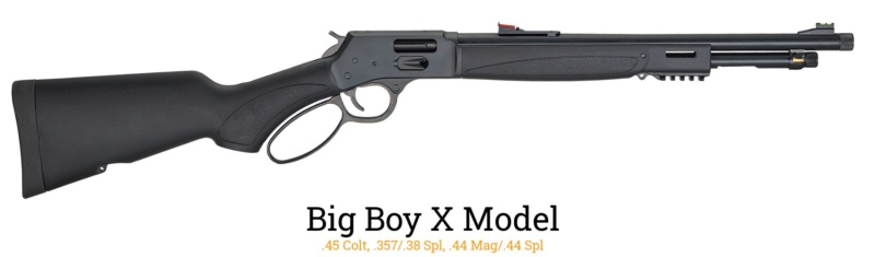"""Henry Big Boy X Model, nouvelle carabine à levier de type """"tactical"""" Henry-12"""