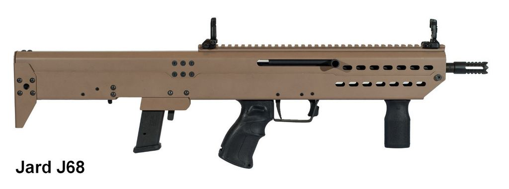 Jard J68 Bullpup calibre 9mm non-restreint Jard-611