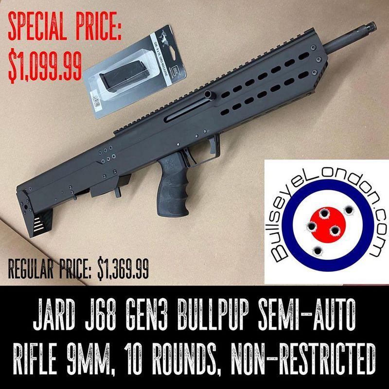 Jard J68 Bullpup calibre 9mm non-restreint Jard-910