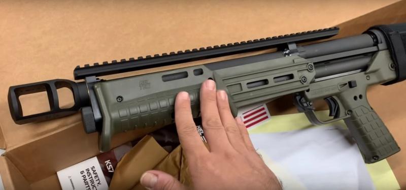 "Le KelTec KS7, petit fusil à pompe de type ""bullpup"" Keltec11"