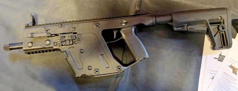 Kriss Vector calibre .22lr disponible en 2020 Kriss-17
