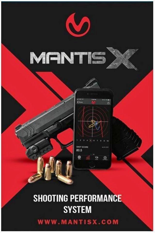 Dispositif électronique d'entrainement de tir au pistolet Mantis10