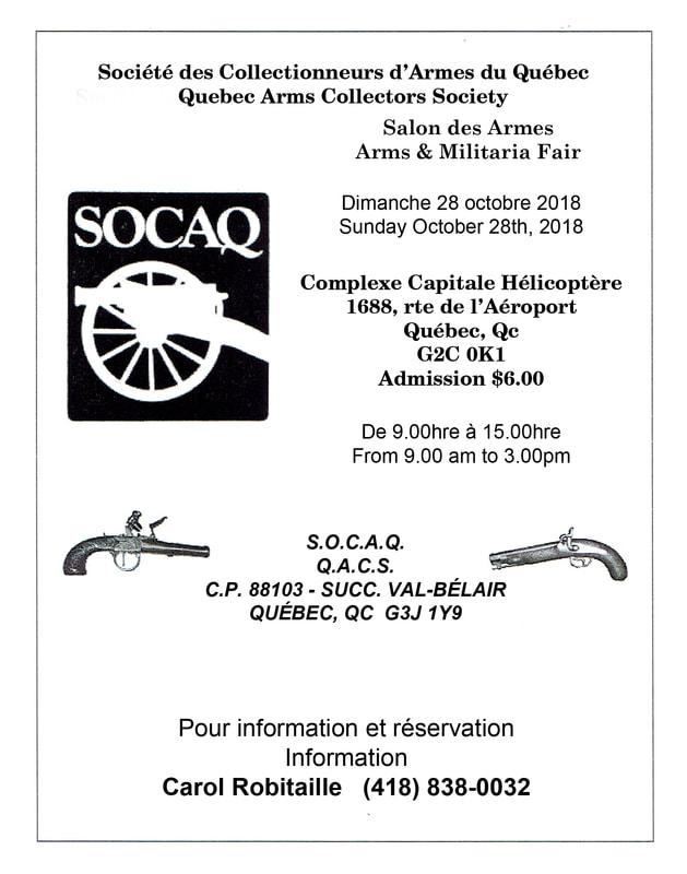 Salon des armes de Québec, dimanche 28 oct. 2018 Socaq-10