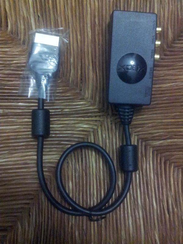 [VDS] Cable component HD et S-Video pour XBOX Official M$ Img_2046