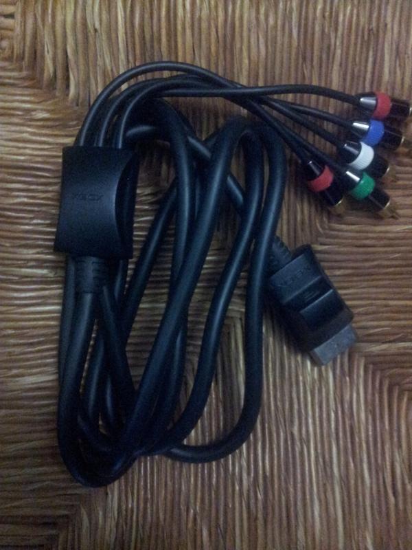 [VDS] Cable component HD et S-Video pour XBOX Official M$ Img_2047