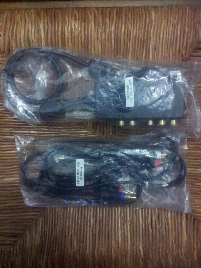 [VDS] Cable component HD et S-Video pour XBOX Official M$ Img_2048