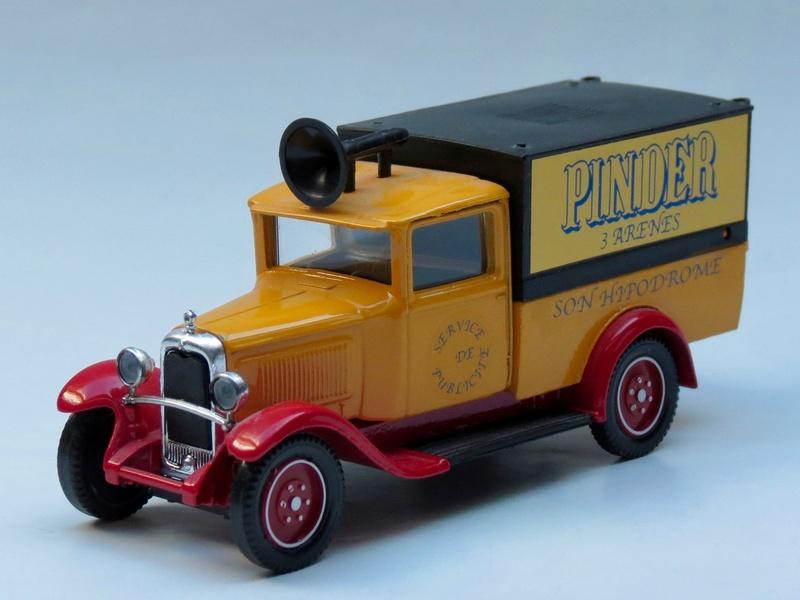 Citroën Les utilitaires miniatures au Cirque 1930_c12
