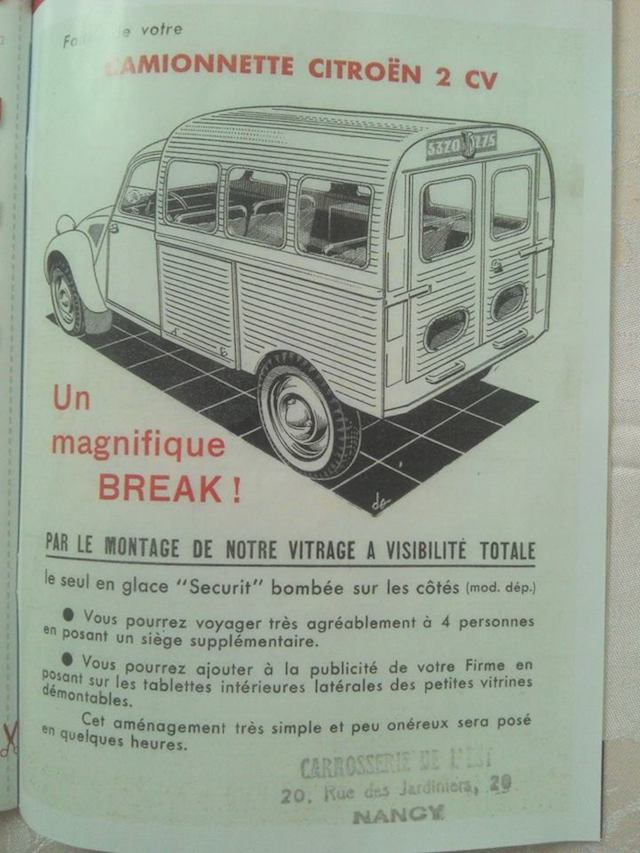 Citroën 2 CV : ACCESSOIRISTES transformations  2cv_br10