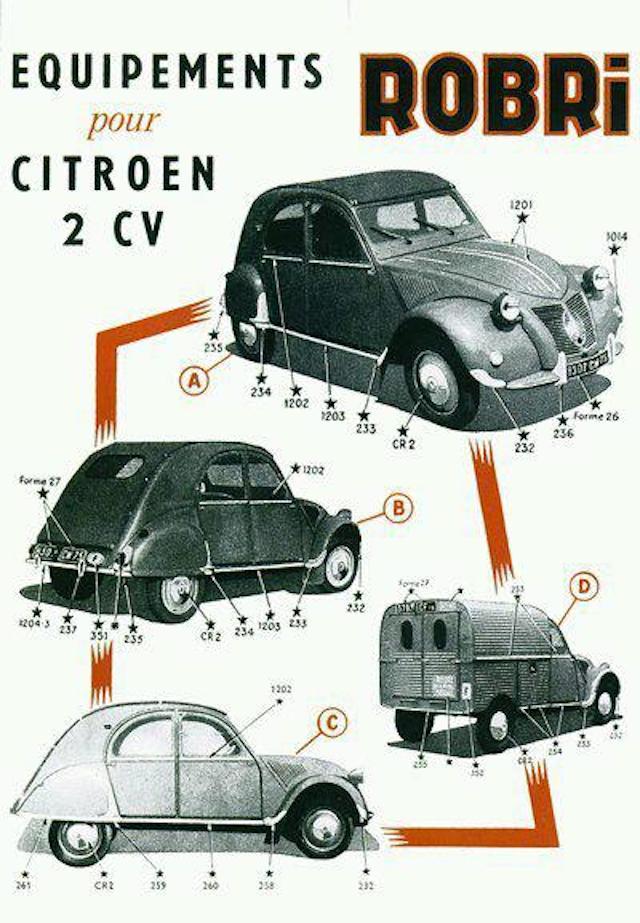 Citroën 2 CV : ACCESSOIRISTES transformations  2cv_ro10