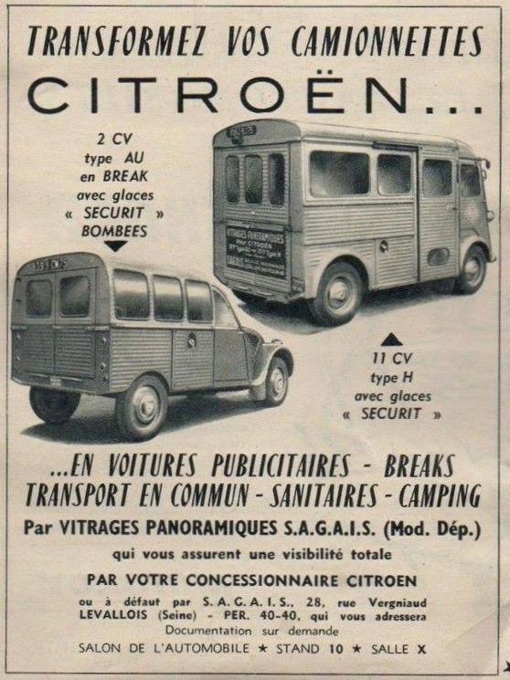 Citroën 2 CV : ACCESSOIRISTES transformations  44338f10