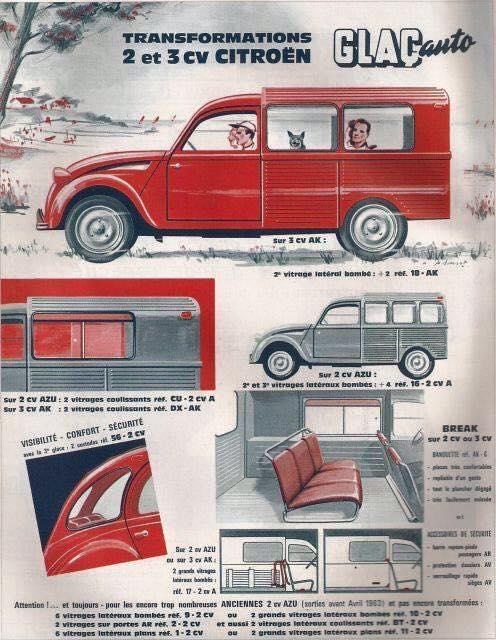 Citroën 2 CV : ACCESSOIRISTES transformations  53ae6b10
