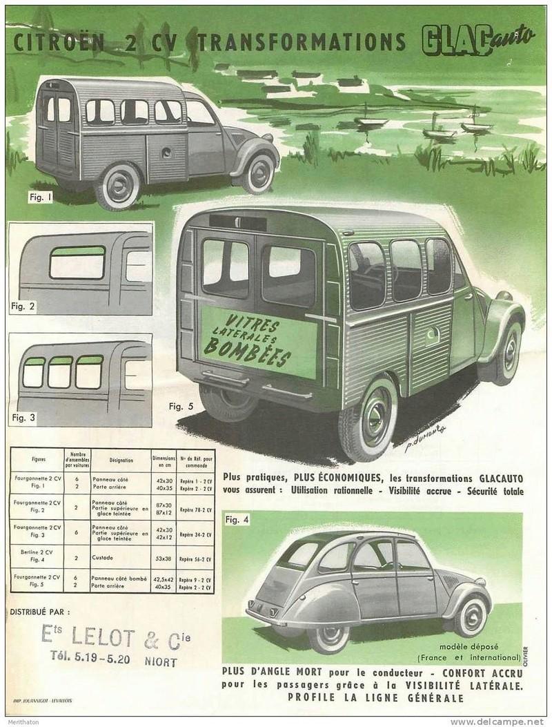 Citroën 2 CV : ACCESSOIRISTES transformations  542_0012