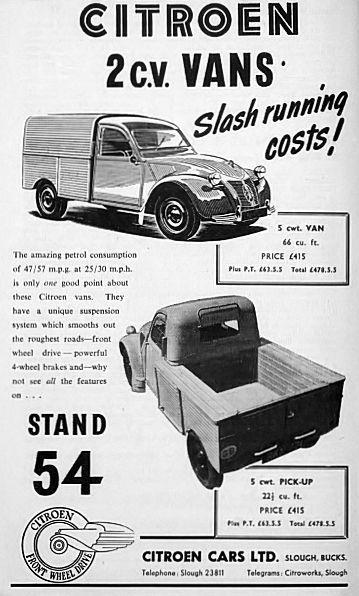 2 CV Pick-up 65c88010