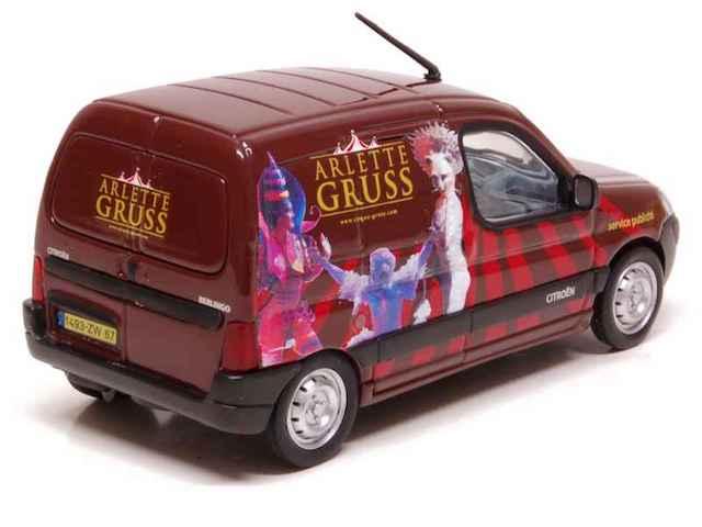 Citroën Les utilitaires miniatures au Cirque Berlin11