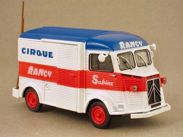 Citroën Les utilitaires miniatures au Cirque Captur23