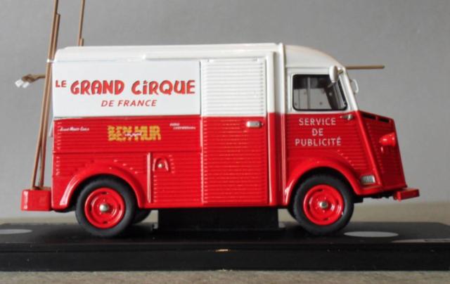 Citroën Les utilitaires miniatures au Cirque Captur35