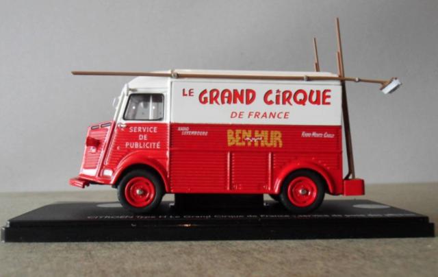 Citroën Les utilitaires miniatures au Cirque Captur39