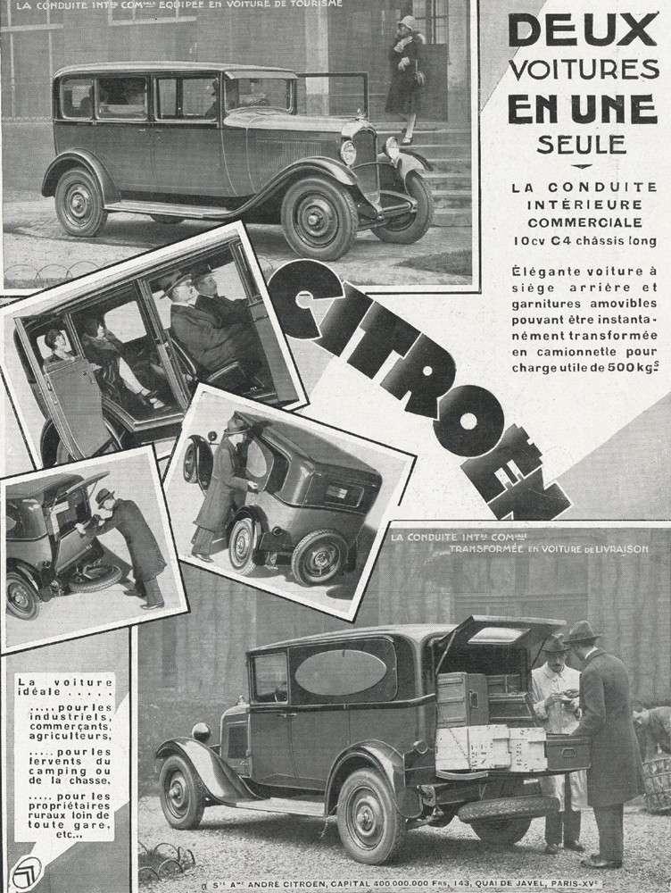 2015 > NOUVEAU > Hachette Collections + AUTO PLUS > La fabuleuse histoire des véhicules publicitaires - Page 6 Citroa12