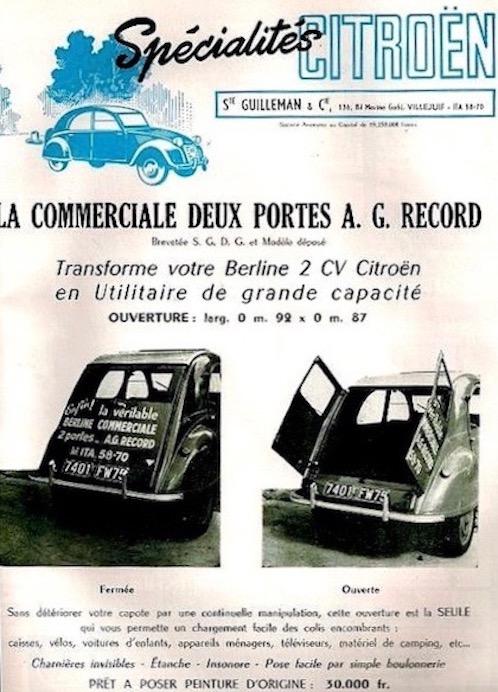 Citroën 2 CV : ACCESSOIRISTES transformations  Citroe18