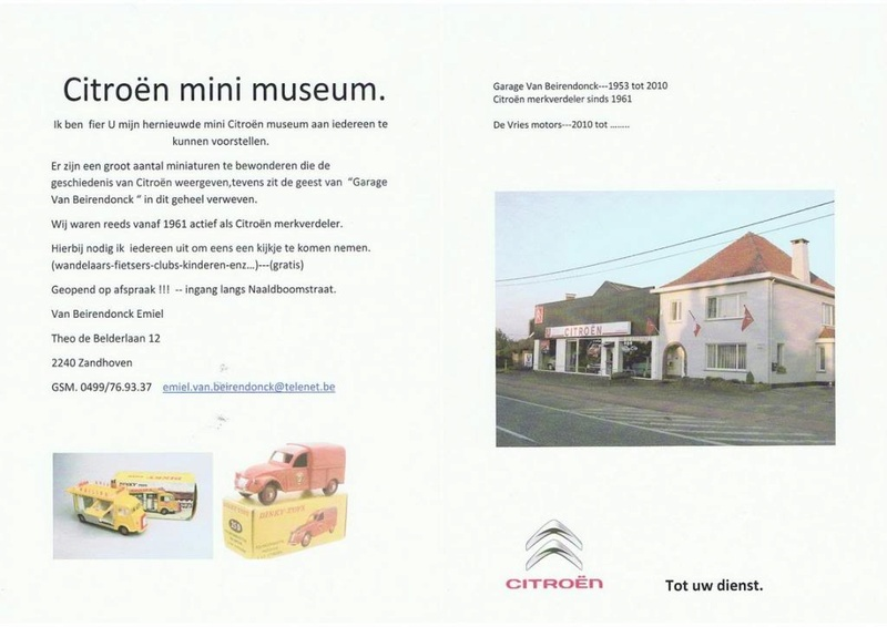 Citroën mini museum Citroe24
