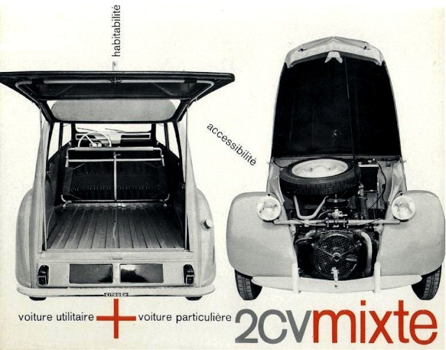 Citroën 2 CV : ACCESSOIRISTES transformations  Enac1210