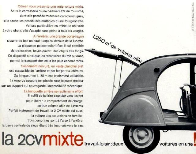 Citroën 2 CV : ACCESSOIRISTES transformations  Enac2110