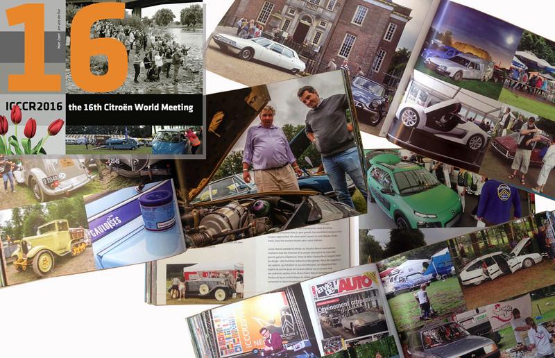 Rétrospectives 16 ème ICCCR (International Citroën Car Clubs Rally) en 2016 Ensemb11